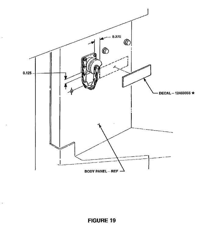 milemarker winch interior sticker /decal – hmmwv systems